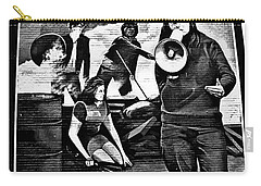 Bernadette Devlin Mural 2 Carry-all Pouch