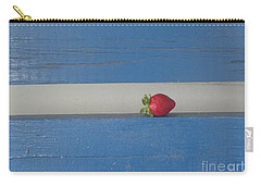 Carry-all Pouch featuring the photograph Berry Blues by Christina Verdgeline