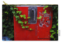 Austin Texas - Coca Cola Vending Machine - Luther Fine Art Carry-all Pouch