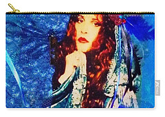 Bewitched In Blue Carry-all Pouch by Alys Caviness-Gober