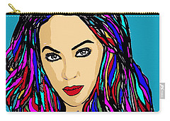 Beyonce Crazy In Love Carry-all Pouch by Saundra Myles