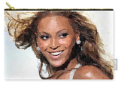 Beyonce Portrait Carry-all Pouch