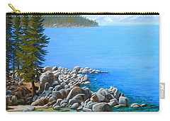 Beyond Secret Cove Carry-all Pouch by Frank Wilson