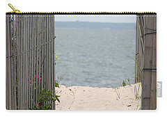 Beyond The Dunes Carry-all Pouch by Barbara Bardzik