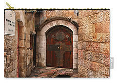 Door In Jerusalem Carry-all Pouch