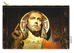 Bible Quote  Mark 6  50 Carry-all Pouch