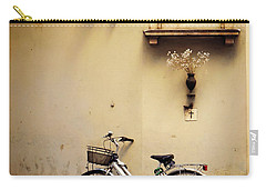 Bicycle And Madonna Carry-all Pouch