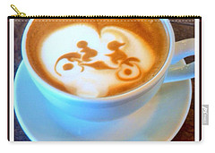 Bicycle Built For Two Latte Carry-all Pouch