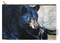 Big B And Little Bee Carry-all Pouch
