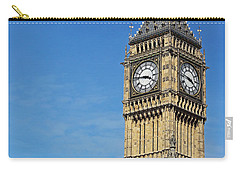 Big Ben And London Eye Carry-all Pouch