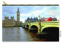 Big Ben And River Thames Carry-all Pouch