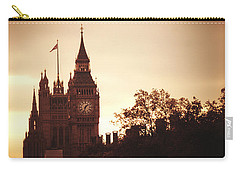 Big Ben In Sepia Carry-all Pouch