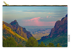 Big Bend Texas From The Chisos Mountain Lodge Carry-all Pouch