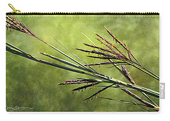 Big Bluestem In Bloom Carry-all Pouch