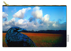 Big Daddy Crow Series Silent Watcher Carry-all Pouch