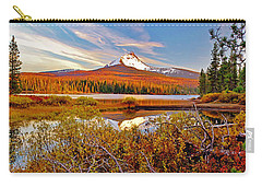 Big Lake And Mt Washington Oregon Carry-all Pouch