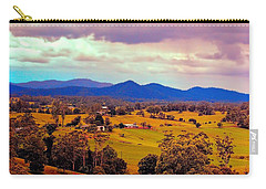 Carry-all Pouch featuring the photograph Big Sky Country by Wallaroo Images