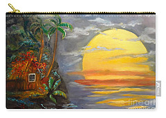 Big Yellow Sun Carry-all Pouch