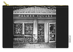 Bike At Palmer Square Book Store In Princeton Carry-all Pouch