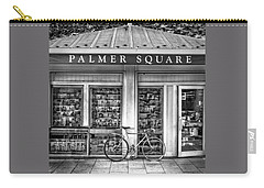 Bike At Palmer Square Book Store In Princeton Carry-all Pouch by Ben and Raisa Gertsberg