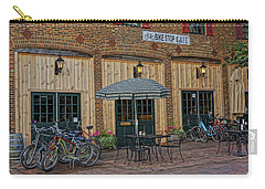 Bike Shop Cafe Katty Trail St Charles Mo Dsc00860 Carry-all Pouch