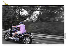 Biker Carry-all Pouch by Gandz Photography