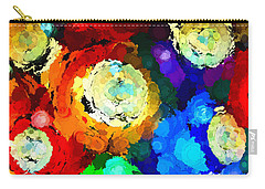 Billiard Balls Abstract Digital Art Carry-all Pouch