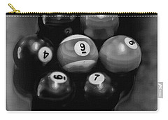 Billiards Art - Your Break - Bw  Carry-all Pouch by Lesa Fine