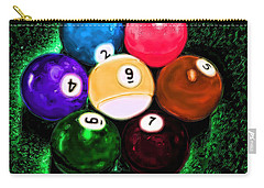 Billiards Art - Your Break Carry-all Pouch by Lesa Fine