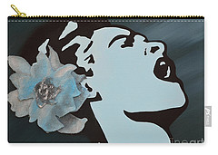 Billie Holiday Carry-all Pouch by Alys Caviness-Gober