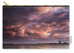 Billowing Clouds Carry-all Pouch by Fran Gallogly