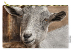 Billy Goat Carry-all Pouch by Lori Deiter