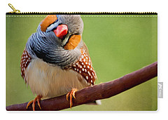 Bird Art - Change Your Opinions Carry-all Pouch by Jordan Blackstone