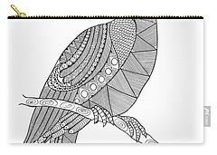 Bird Hornbill Carry-all Pouch by Neeti Goswami