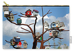 Bird House Village Carry-all Pouch