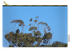 Bird In A Tree Carry-all Pouch by Mark Blauhoefer