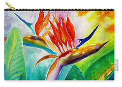 Bird Of Paradise Carry-all Pouch by Carlin Blahnik