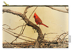 Bird On A Vine Carry-all Pouch