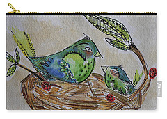 Bird Talk Carry-all Pouch