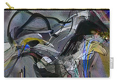 Carry-all Pouch featuring the digital art Bird That Wept With Me by Richard Thomas