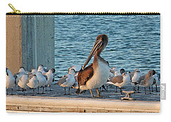 Birds - Among Friends Carry-all Pouch