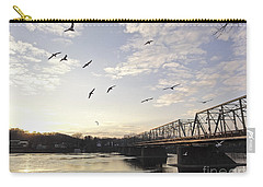 Birds And Bridges Carry-all Pouch