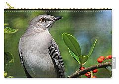 Birds - Northern Mockingbird Carry-all Pouch