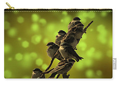 Birds Of A Feather Carry-all Pouch by David Dehner