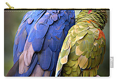 Birds Of A Feather Carry-all Pouch by Stephen Stookey