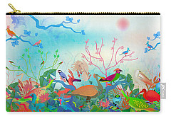 Birds Of My Landscapes - Limited Edition  Of 15 Carry-all Pouch