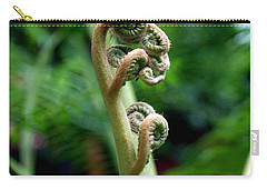 Birth Of A Fern Carry-all Pouch