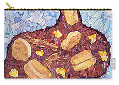 Carry-all Pouch featuring the painting Biscuit Basket by James W Johnson
