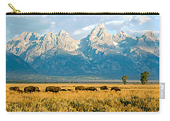 Bison Herd Carry-all Pouch