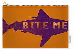 Bite Me Carry-all Pouch by Michelle Calkins